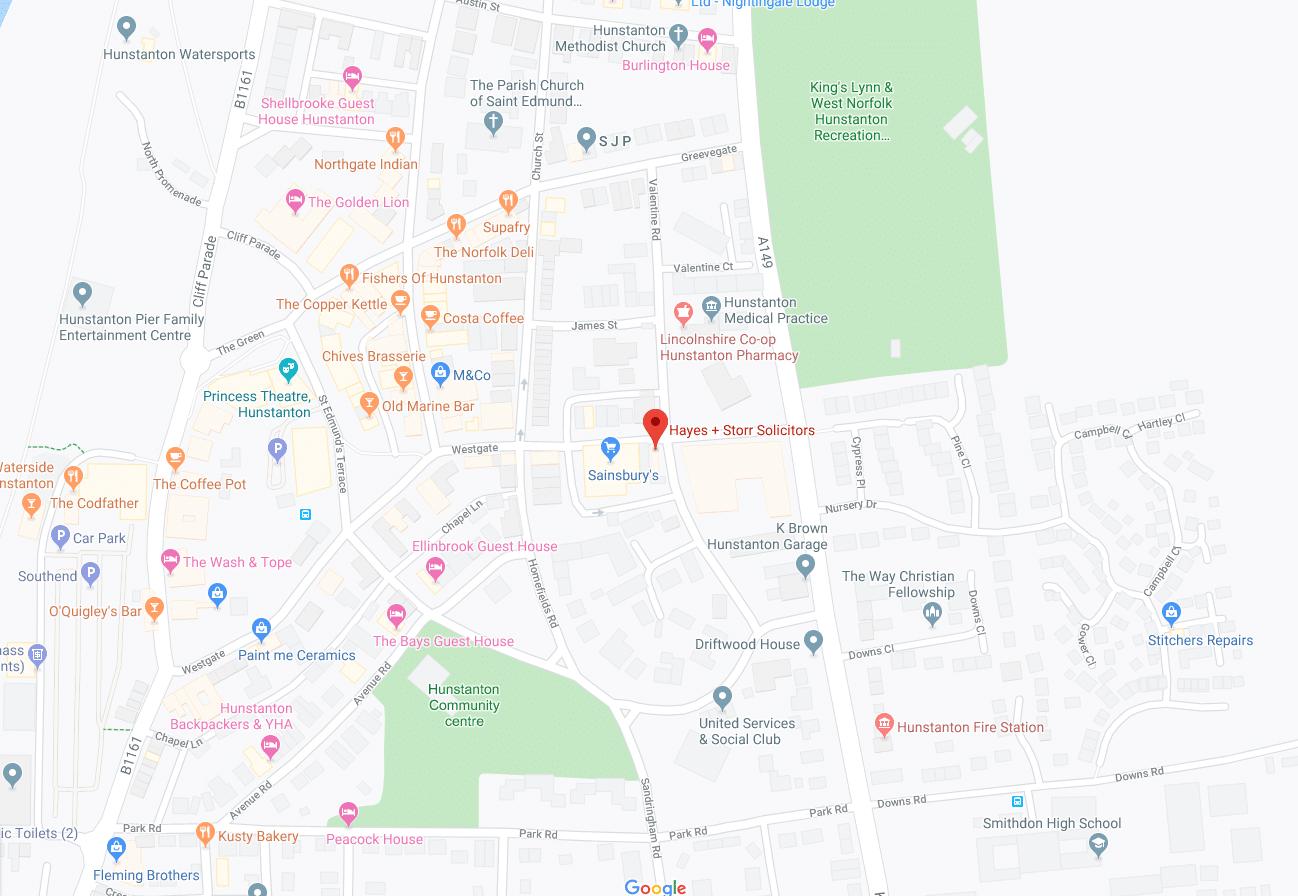 Hunstanton_Map